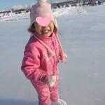 幼稚園も新学期☆ちびっ子達とスケート場へ♪