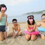 今年も来ました♪蘭島海水浴場/2013年夏休み☆