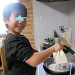 こーさん5歳のバースデー☆ミミロルケーキでおめでとう♪