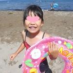 8月の風☆蘭島海水浴場へ♪