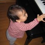 胎教効果?☆ピアノとオデ