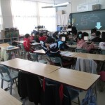 かー君参観日と親子レク♪~少人数授業とパソコン学習~