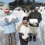 雪のランタン作りとパン取り競争?!冬のイベント記録。。☆
