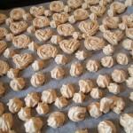 128.2週間のお弁当☆焼きメレンゲ(ムラング)は「綿菓子クッキー♪」