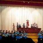 中学校三者懇談と小学生組学習発表会☆2014