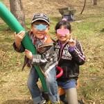 春の公園と参観日ラッシュと修学旅行☆